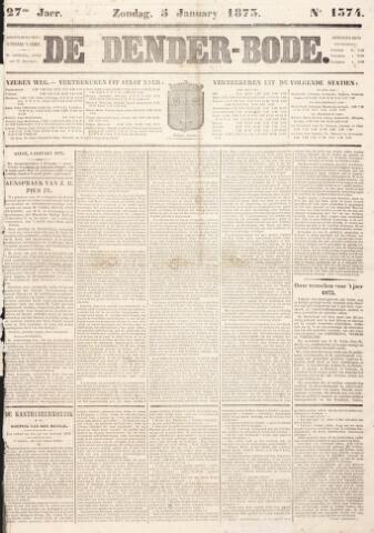 De Denderbode 1873-01-05