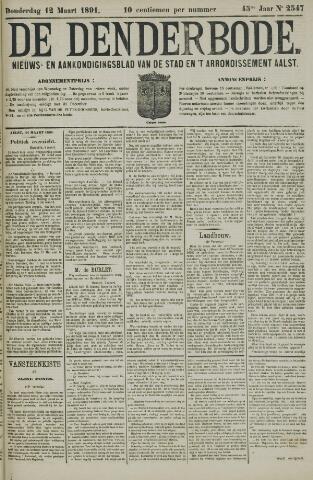 De Denderbode 1891-03-12