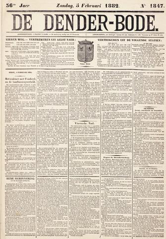 De Denderbode 1882-02-05