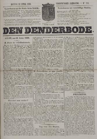 De Denderbode 1860-04-22