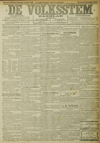De Volksstem 1915-12-21