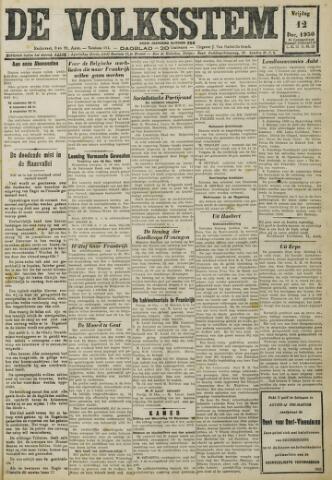 De Volksstem 1930-12-12