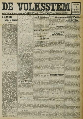 De Volksstem 1926-08-05