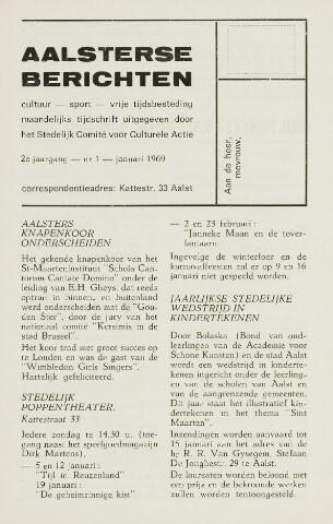 Aalsterse Berichten 1969