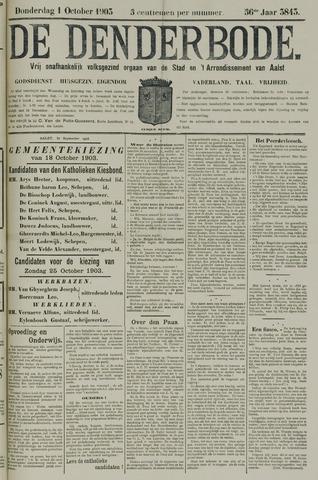 De Denderbode 1903-10-01