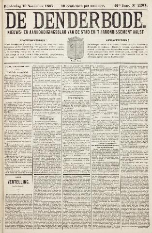 De Denderbode 1887-11-10