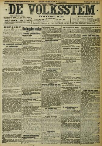 De Volksstem 1915-07-16