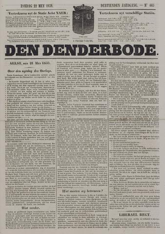 De Denderbode 1859-05-22