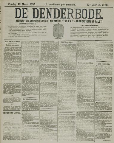 De Denderbode 1893-03-19