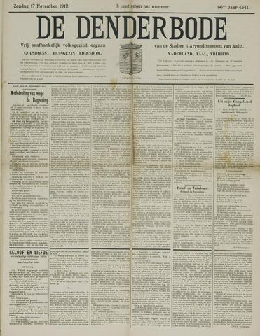 De Denderbode 1912-11-17