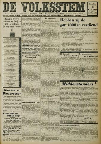 De Volksstem 1926-10-09