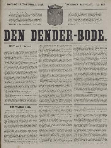 De Denderbode 1848-11-12