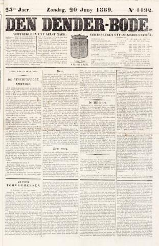 De Denderbode 1869-06-20