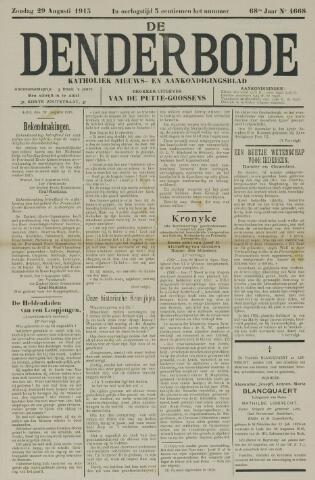 De Denderbode 1915-08-29