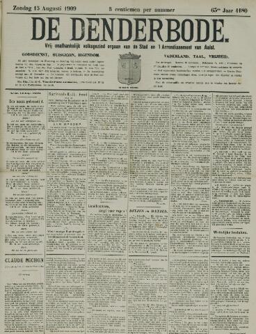 De Denderbode 1909-08-15