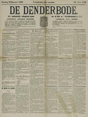 De Denderbode 1912-01-21