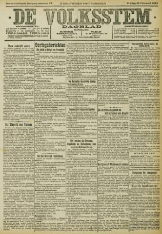 De Volksstem 1915-02-26