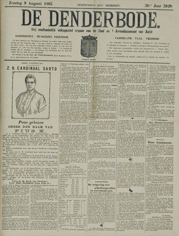 De Denderbode 1903-08-09