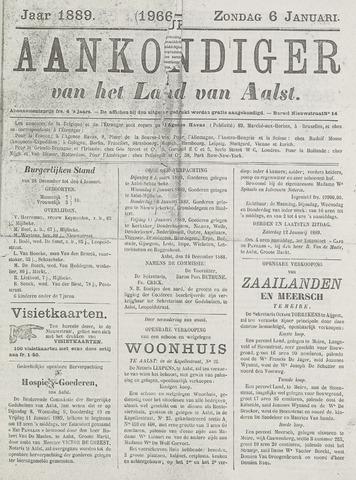 Aankondiger 1889