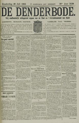 De Denderbode 1904-07-28