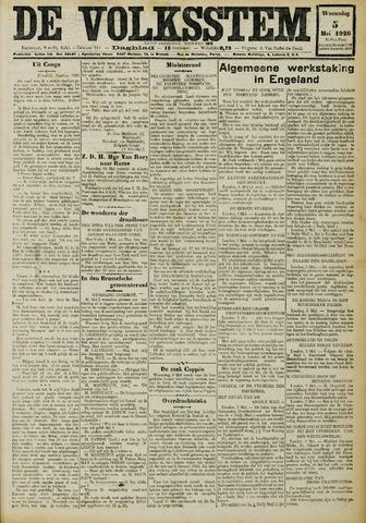 De Volksstem 1926-05-05