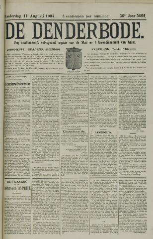 De Denderbode 1904-08-11