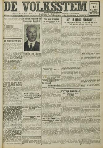 De Volksstem 1931-12-15