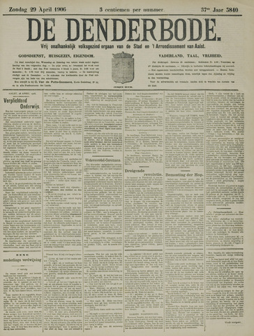 De Denderbode 1906-04-29