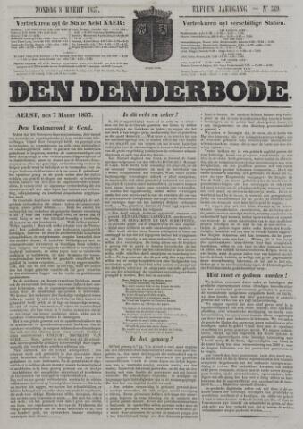 De Denderbode 1857-03-08