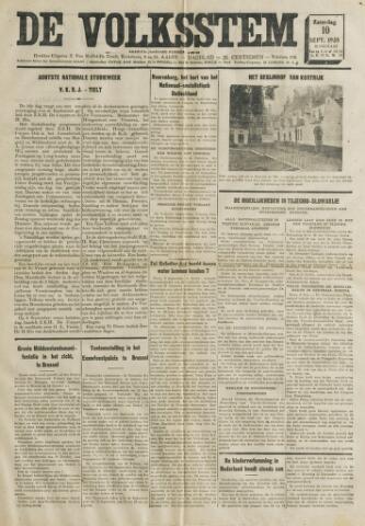 De Volksstem 1938-09-10