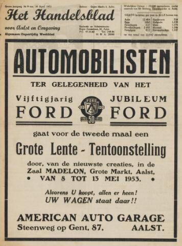 Het Handelsblad 1953-04-30