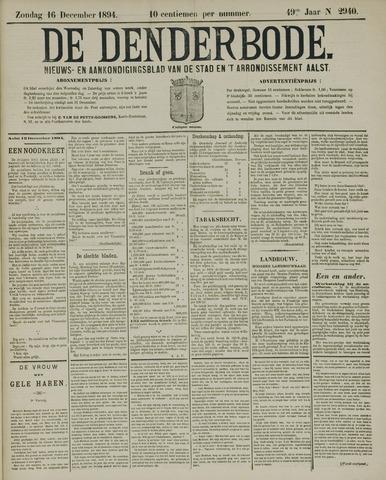 De Denderbode 1894-12-16