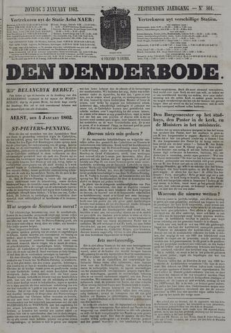 De Denderbode 1862