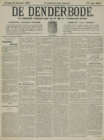 De Denderbode 1907-01-13