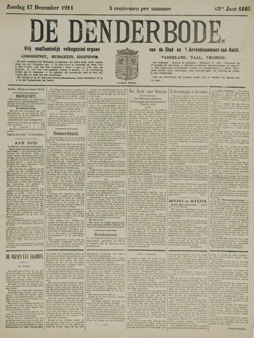 De Denderbode 1911-12-17