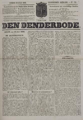 De Denderbode 1860-07-22