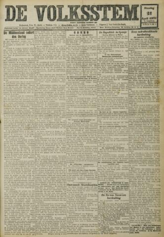 De Volksstem 1931-04-21