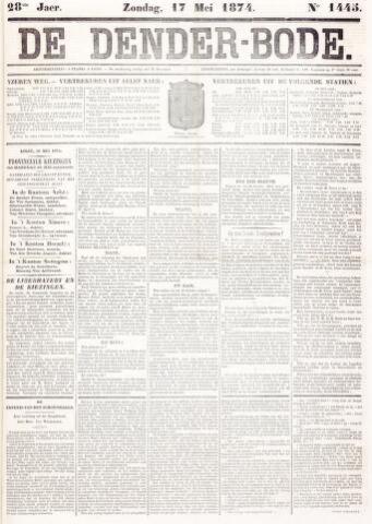 De Denderbode 1874-05-17
