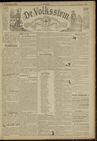 De Volksstem 1907-02-09
