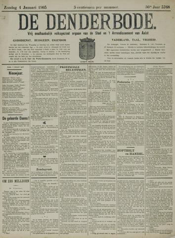 De Denderbode 1903-01-04