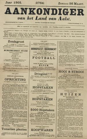Aankondiger 1905