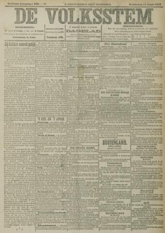 De Volksstem 1910-08-11
