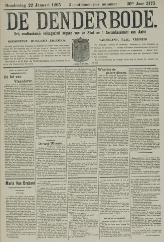 De Denderbode 1903-01-22