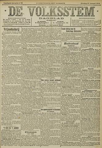 De Volksstem 1914-01-27