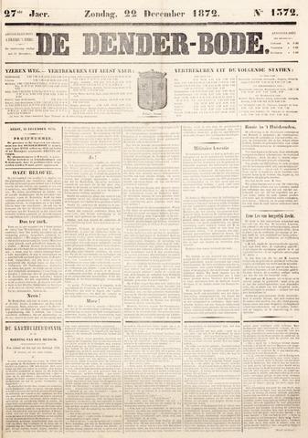 De Denderbode 1872-12-22