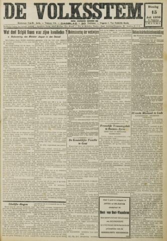 De Volksstem 1930-07-15
