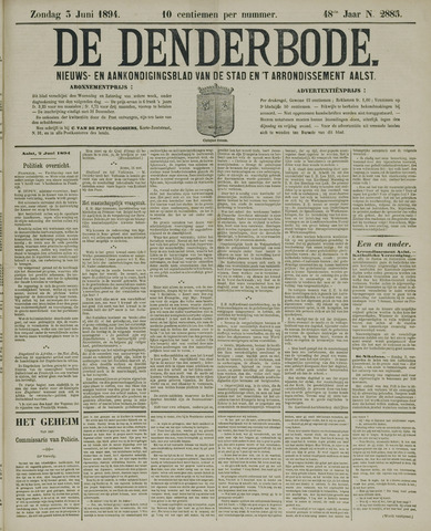 De Denderbode 1894-06-03