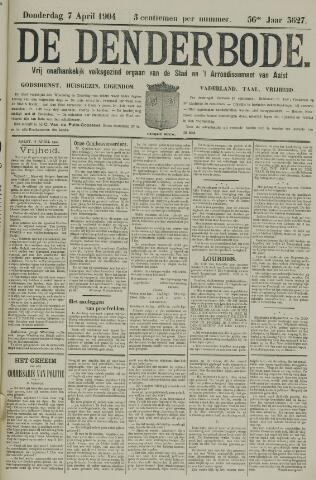 De Denderbode 1904-04-07