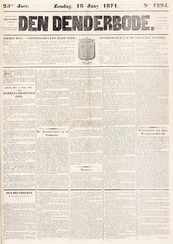 De Denderbode 1871-06-18