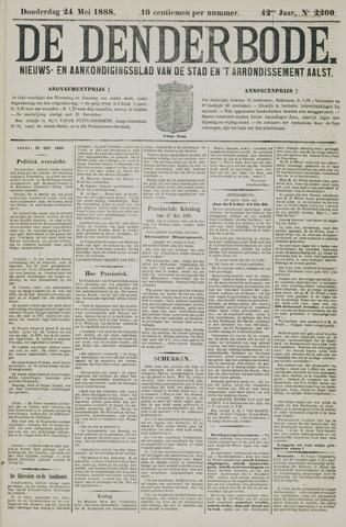 De Denderbode 1888-05-24